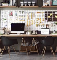 combined office interiors desk. Amusing Great Scandinavian Office Furniture 18 Dots That Combines American With Home Combined Interiors Desk U
