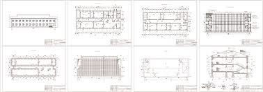 Курсовые и дипломные проекты по Архитектуре зданий и сооружений  Курсовые работы 3 шт Здание из мелкоразмерных элементов