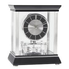 london clock company glass mantel clock