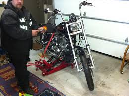 raked triple tree for my dyna harley davidson forums