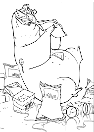 Open Season Coloring Pages For Kids
