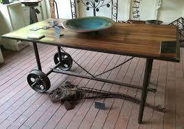 Recycled metal furniture and sculptures, Tread Sculptures, Kangaroo Ground,  Victoria