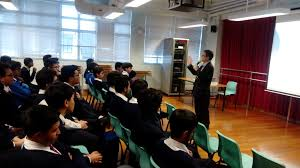 sir ellis kadoorie secondary school west kowloon career talk for ethnic minority students