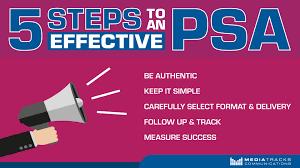 Psa Example How To Write A Psa Public Service Announcement