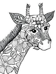Super Hard Animal Coloring Pages With Moonoon