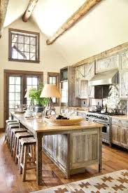 rustic country kitchen ideas weathered wood maximizes the airy space of a high rustic country kitchen rustic country kitchen ideas