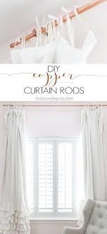 Curtain Rod Alternatives Best 25 Curtain Rods Ideas On Pinterest Bedroom Window