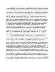 the scarlet letter hester prynne a transcendentalist heroine  1 pages huckleberry finn individualism essay