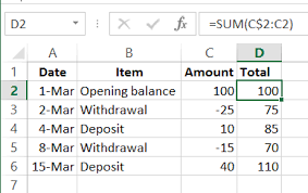 Sum Total How To Sum In Excel Examples And Videos