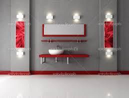 Red Bathroom Decor Red And Grey Bathroom