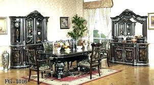 italian lacquer dining room furniture. Italian Dining Room Sets Furniture Splendid Pleasing Classic Tables And Black Lacquer L