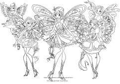 Disegni Da Colorare Winx Butterflix Fredrotgans