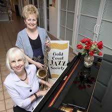 Pam Dearden, executive director of the Gold Coast Jazz Society ...