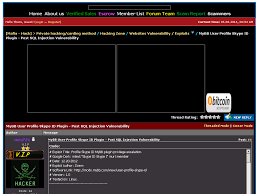 mybb user profile skype id plugin post sql injection vulnerability