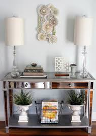 enchanting entryway table decor with entry table decorations