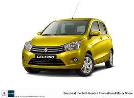 new car releases march 2014The Motoring World GENEVA  Suzuki launches new city car the CELERIO