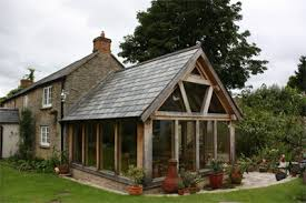 timber frame extention
