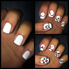 Christmas Light Nails String Pin On Simple Diy Nail Art Manicures