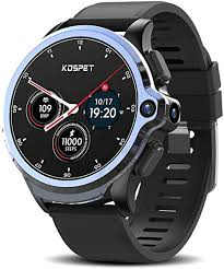 <b>KOSPET Prime</b> 2020 4G/LTE Smartwatch <b>3GB</b> RAM <b>32GB</b> ROM, 1.6