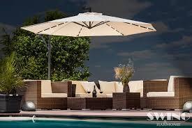 xl led cantilever garden parasol 5