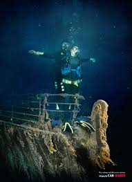 real underwater titanic pictures. Simple Underwater Sanyo Xacti For Underwater Titanic Photo In Real Pictures