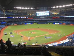 photo of the field at the rogers centre home of the toronto blue jays