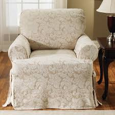 sure fit scroll classic t cushion armchair slipcover reviews armchair slipcovers