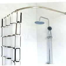 curve shower curtain stainless steel curved shower curtain pole rod rail bathroom s bath accessories supplies