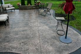 stamped concrete patio with fire pit cost. Stamped Concrete Patio Cost With Fire Pit