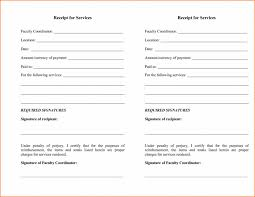 Template Services Rendered Invoice Template Word Example Receipt