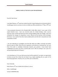 10 Law Internship Cover Letter Sample Payment Format