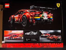 Modelbilen er fyldt med autentiske funktioner og smukke designdetaljer og in Review 42125 Technic Ferrari 488 Gte Af Corse 51 Lego Technic And Model Team Eurobricks Forums