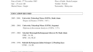 Download Sample Resume Resume Directory