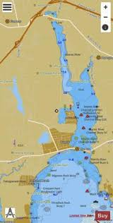 Thames River Ct Depth Chart Niantic River And Bay Marine Chart Us12372_p2167