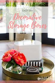 diy decorated storage boxes. This Decorative Storage Box Is A Crazy Easy DIY That Can Be Customized For Any Decor Style! Let Your Creativity Flow And Make One Every Room Of Diy Decorated Boxes