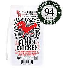 Pomegranate, macadamia nut, pink grapefruit zest, agave syrup, a hint of fresh dill in aroma and cup. Amazon Com Red Rooster Coffee Roaster Funky Chicken Medium Roasted Fair Trade Organic Whole Bean Coffee 12 Ounce Bag Grocery Gourmet Food
