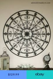 A wide variety of wrought iron wall decor options are available to you, such as plastic type, fabric type. Wall Sculptures Home Garden Ebay Iron Wall Decor Wrought Iron Wall Decor Iron Wall Art
