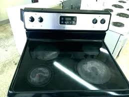 flat top electric range stove top electric glass top stove electric glass stove top replacement whirlpool