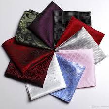 <b>2019 New Plaid</b> Grid Paisley Dots Bussiness <b>Suit</b> Pocket Square ...