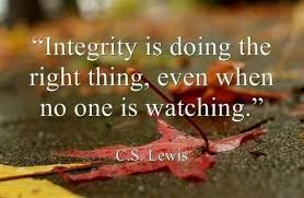 Quotes About Integrity Cool Spiritual Sunday Quotes Integrity The Inner Image Of Yourself