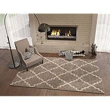 5 by 7 rugs. Amazon Com Grey Silver 3x5 3 X 4 7 Area Rug Trellis Intended For Decorations 14 5 By Rugs R