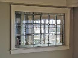 Simple window treatments for basement windows