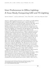 American National Standard Practice For Office Lighting Pdf Pdf User Preferences In Office Lighting A Case Study