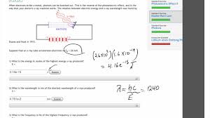 """duane and hunt law """"FlipitPhysics"""" solution - YouTube"""