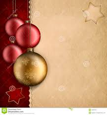 Christmas Background Template Stock Illustration