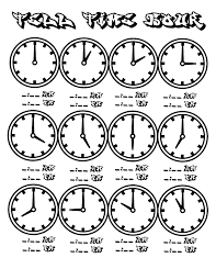 Time Clock Chart File Tell Time Clock Hour Chart At Coloring Pages For Kids