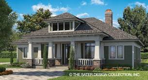 Home Plans and Custom House Design   Sater Design CollectionGlenfield PLAN