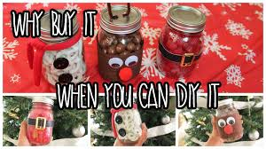 Mason Jars Decorated For Christmas EASY Last Minute DIY Christmas Gifts Using Mason Jars YouTube 17