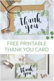 Best 25 Thank You Card Template Ideas On Pinterest Thank You