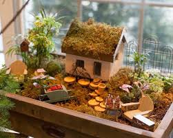 how to build a fairy garden. Stop By And Check Out The Gardens Created Our In House Team Then Build Your Own At Home Following These 5 Simple Steps. How To Assemble A Fairy Garden